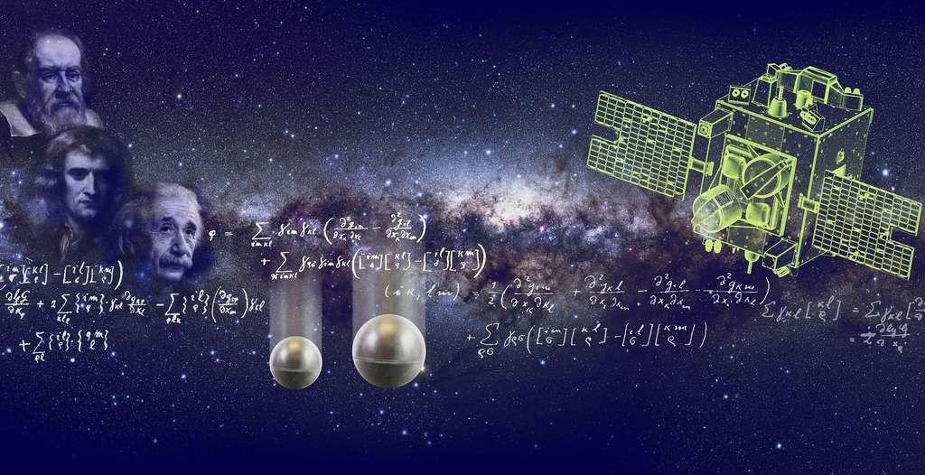 La théorie de la gravitation d'Einstein subira-t-elle le même sort que celle de Newton avec les mesures du satellite Microscope, du Cnes, concernant le principe d'équivalence, déjà connu de Galilée ? © Cnes
