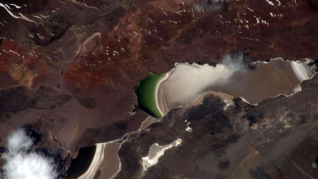 Les Andes vues de l'espace