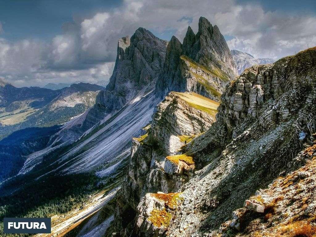 Vue sur les Dolomites en Italie (Trentin-Haut-Adige et Vénétie)