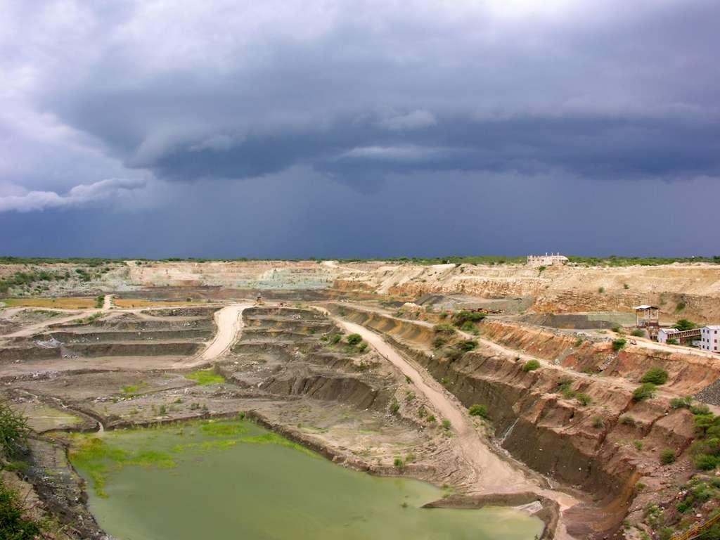 Mine de diamant de Williamson en Tanzanie. © Hansueli Krapf
