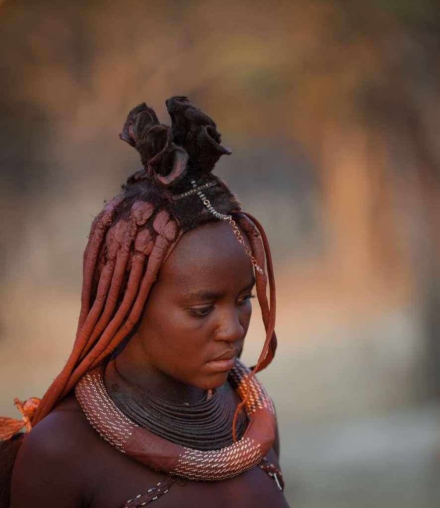 Les femmes himbas et leur coiffure