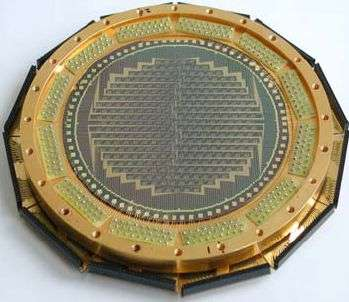 Face arrière sensible (LABOCA). Crédit Max Planck Institute for Radioastronomy.