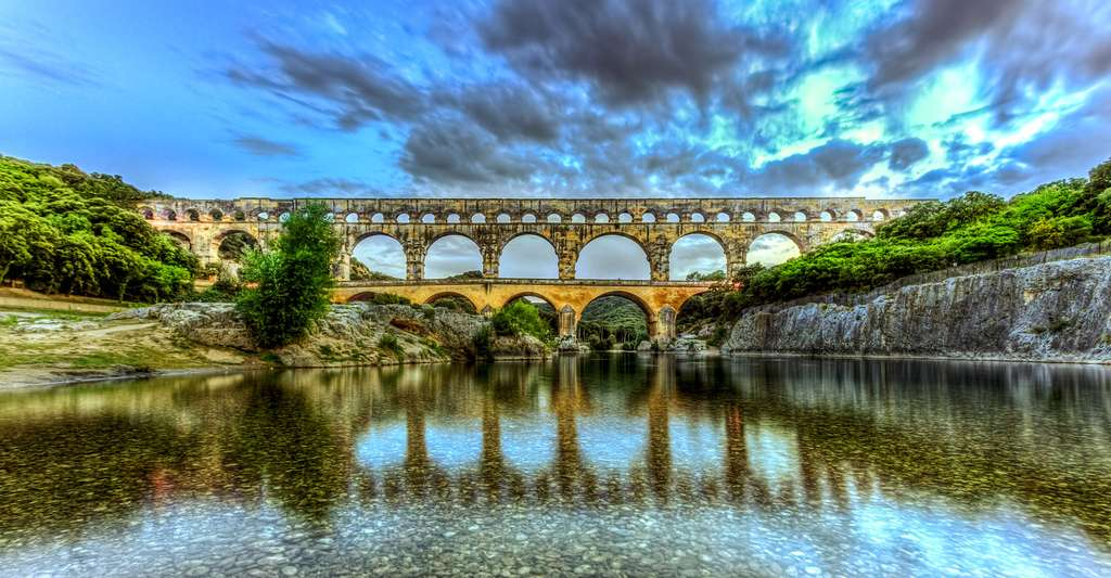 Pont du Gard, Provence, France. © Chiugoran, Wikimedia commons, CC by-sa 3.0