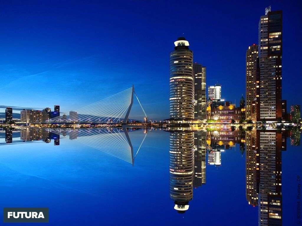 Rotterdam en Hollande méridionale est la ville de l'innovation et de l'architecture