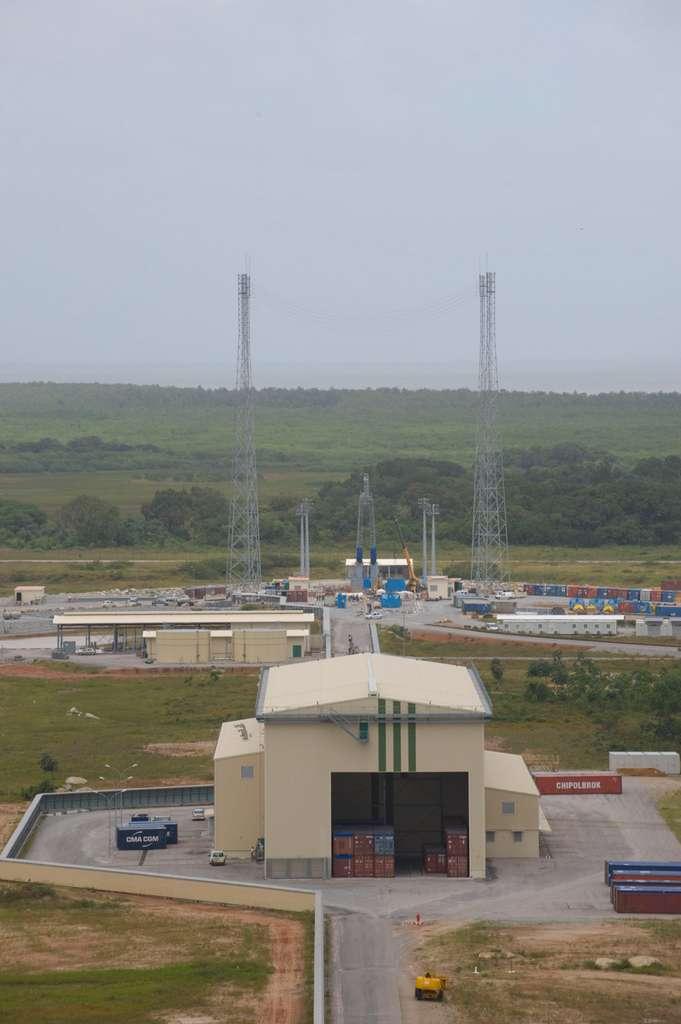 L'Ensemble de lancement Soyuz (septembre 2009)