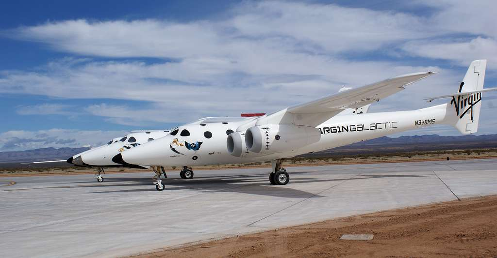 SpaceShipTwo. © Jeff Foust - CC BY 2.0