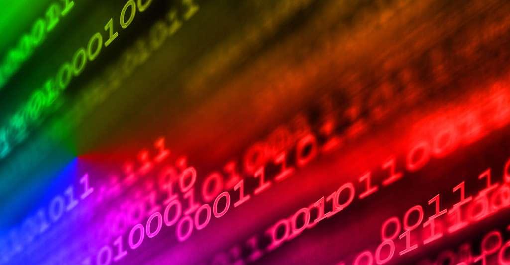 Initiation à la théorie de l'information et au codage de canal. Ici, du code binaire. © 3dkombinat, Shutterstock