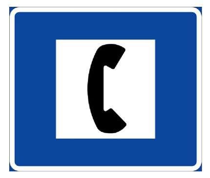 Lors d'un choc anaphylactique, il faut appeler immédiatement les secours d'urgence (le 15 ou le 112). © Administration de Suède (panneau signalétique suédois), DP