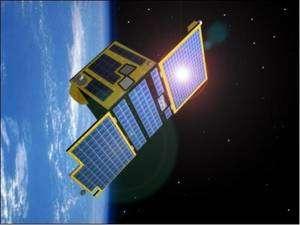 Proba-2, le petit dernier des satellites scientifiques européens. Crédits : Esa