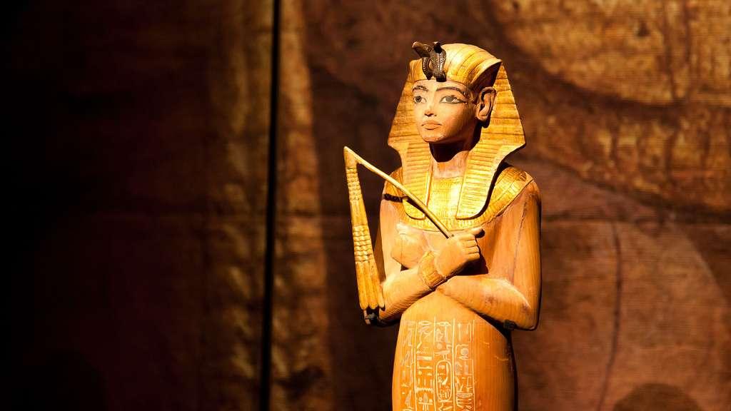 Une chaouabti, statuette funéraire