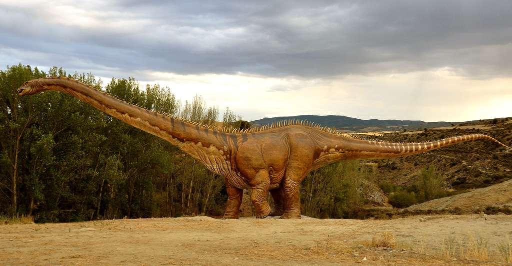 L'oxygène est la mémoire de la vie des dinosaures. © SoyArturoGarcía, CC by-sa 4.0