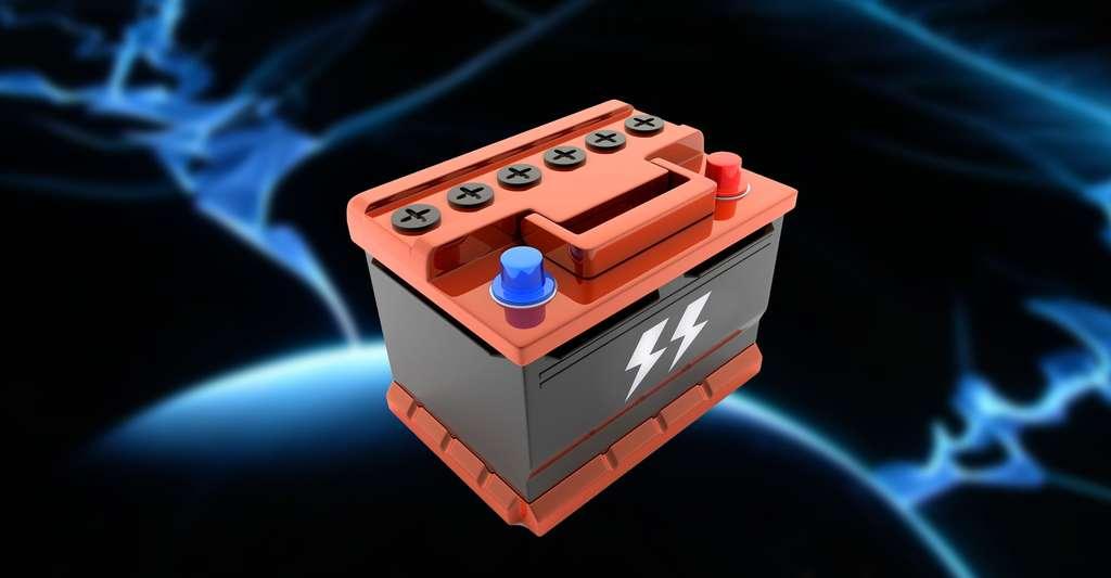 Batterie de voiture. © Vladislav Kochelaevs - Fotolia