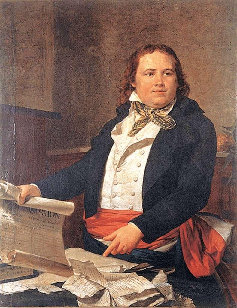 Portrait du commissaire Sonthonax, auteur inconnu, fin XVIIIe siècle. Musée du Peigne et de la Plasturgie, Oyonnax. © Wikimedia Commons, domaine public