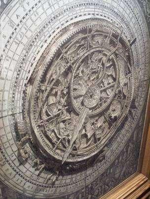 Volvelle astrologique datant de 1575. (cc) Kevan