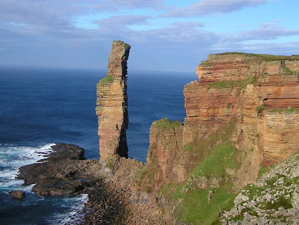 Le Old Man of Hoy. © Grinner, Wikimedia Commons, GNU 1.2