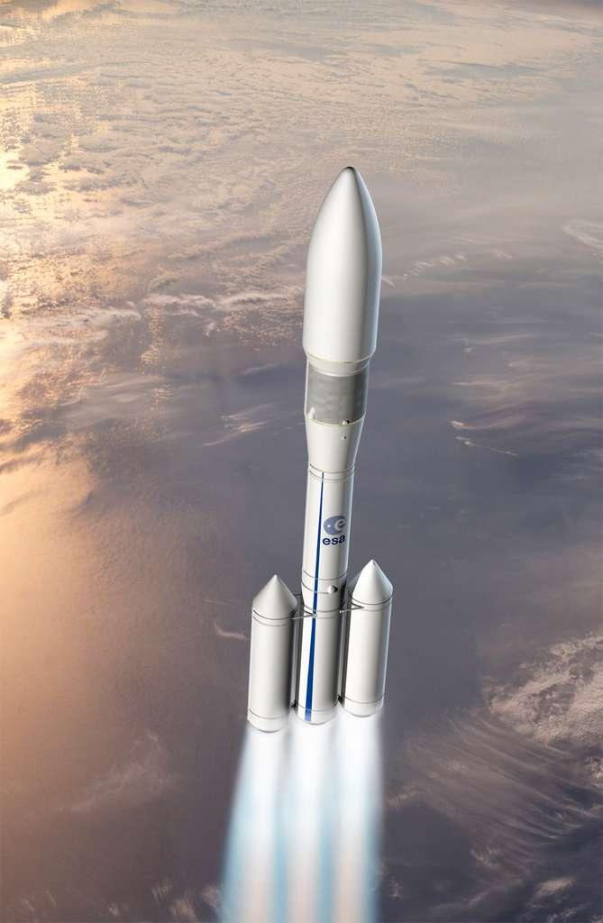 L'Ariane 6 choisie par l'Agence spatiale européenne sera économique et conçue pour répondre aux besoins de l'Europe. © Esa, D. Ducros