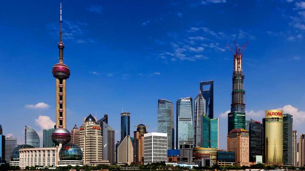 La Perle de l'Orient, à Shangai
