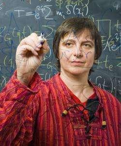 La physicienne et mathématicienne Matilde Marcolli a exploré de nombreux domaines à la frontière de la géométrie, de la topologie et de la théorie quantique des champs. © California Institute of Technology