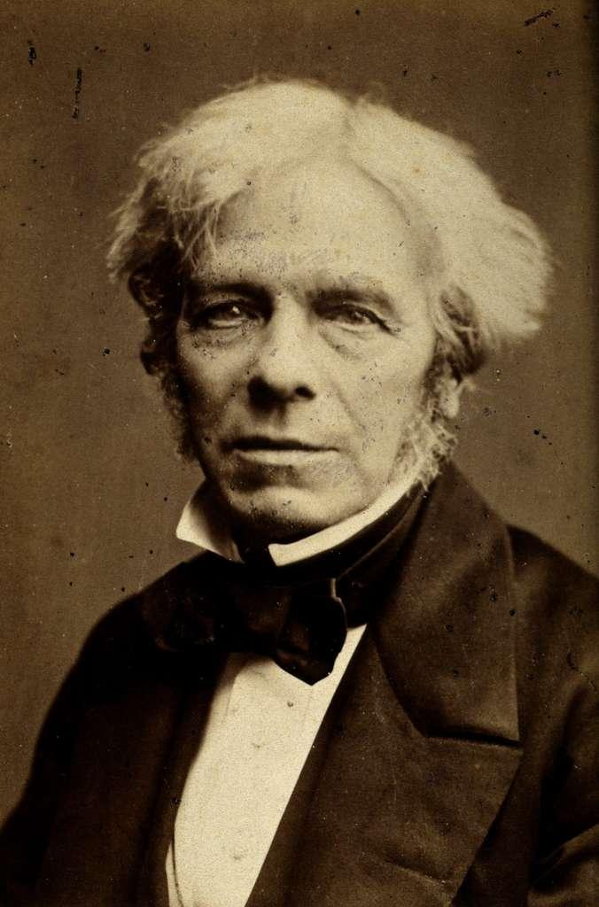 Photo de Michael Faraday par John Watkins, en 1867. © Wikimedia Commons, domaine public.