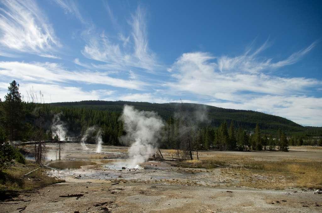 Signes d'une activité magmatique au niveau du volcan du Yellowstone ? © Martin Brummell, imaggeo.egu.eu