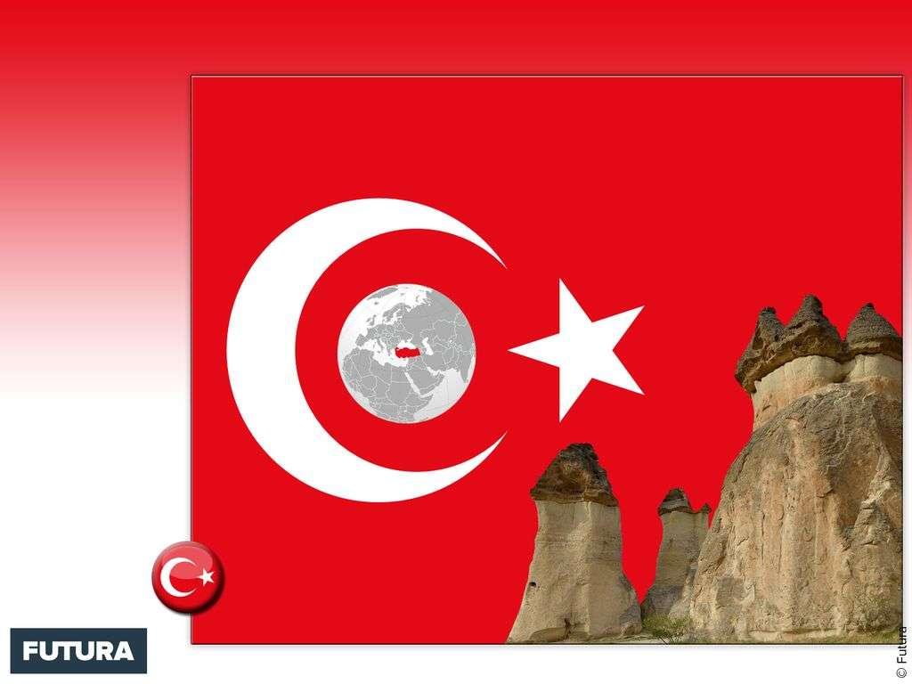 Drapeau : Turquie