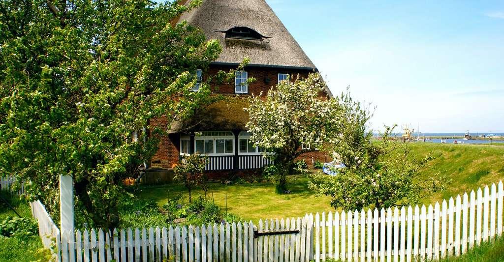 Maison normande toit en chaumes. © Chorengel, Pixabay, DP