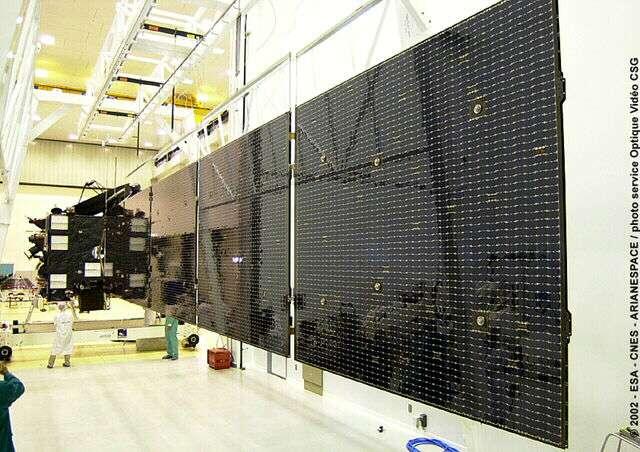La sonde Rosetta déployée