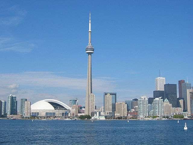 Toronto est la plus grande ville du Canada. © AssetBurned, Wikimedia, CC by-nc 3.0