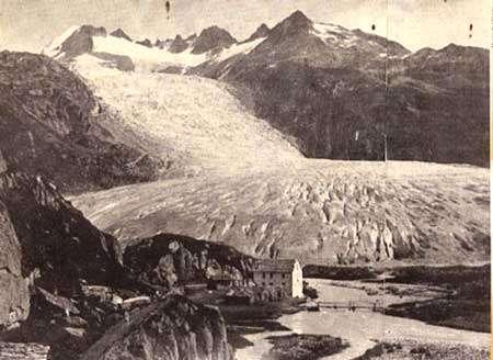 Vers 1850 Photo : F. Von Martens, transmise par le Prof. J.-P. Portmann - Tous droits de reproduction interdit