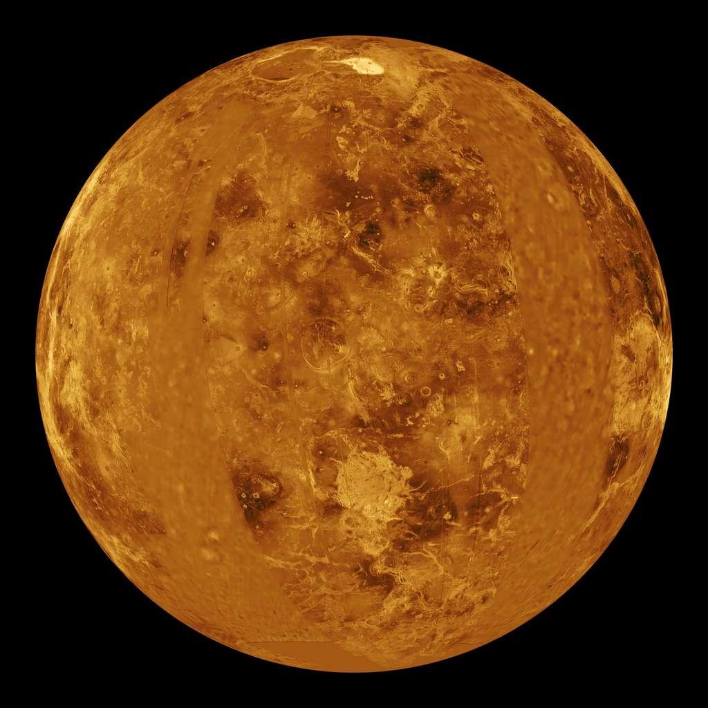 L'effet de serre a fait de Vénus une fournaise. © Nasa, DP