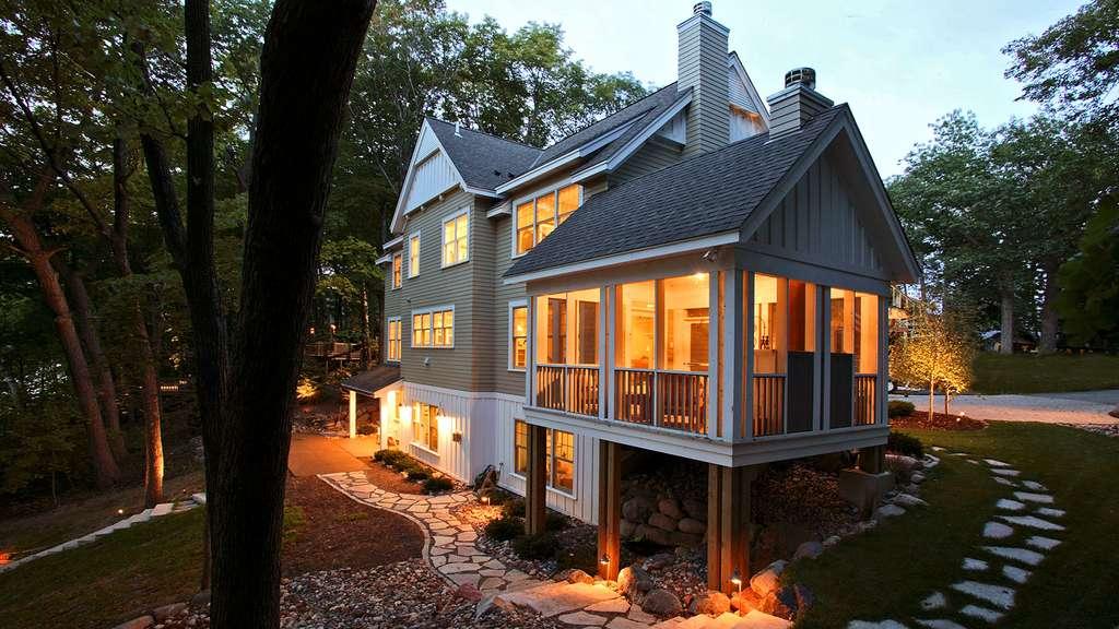 La maison dans les bois, États-Unis
