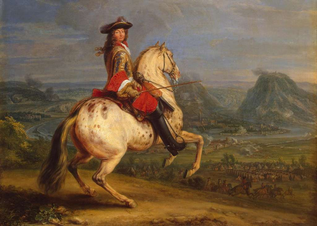 Louis XIV à la prise de Besançon en 1674 par Adam François van der Meulen ; musée de l'Hermitage, Saint-Petersbourg, Russie. © Wikimedia Commons, domaine public