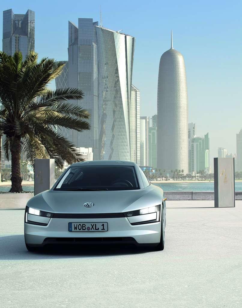 La Volkswagen Formula XL1 abrite une motorisation hybride et limite à deux le nombre de places. © Volkswagen