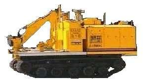 Erase (Engin de reconnaissance Assistance Surveillance extérieure) : cet engin de plus 6 tonnes, télécommandé par radio, peut intervenir à l'extérieur pour mesurer la radioactivité, récupérer des débris, effectuer des prélèvements... © Intra