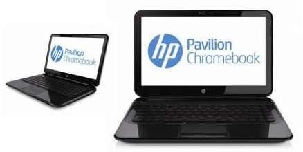 Un ordinateur portable HP sans Windows mais avec Chrome OS, d'abord conçu pour travailler connecté. Le disque dur est de type SSD (c'est donc une mémoire Flash) et ne propose que 16 Go : les documents seront pour la plupart stockés sur le réseau (le cloud). © HP