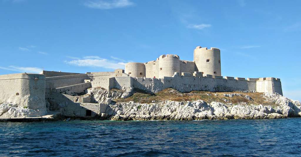 Château d'If au large de Marseille. © Marie, Flickr, CC by-nc 2.0
