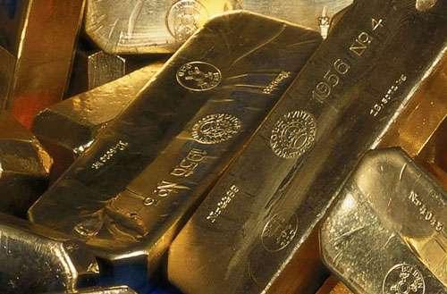 Lingots d'or, un produit de placement.