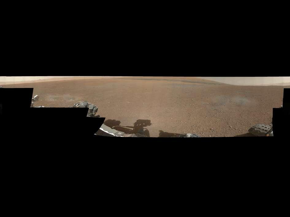 Premier panorama 360° de Mars en couleur