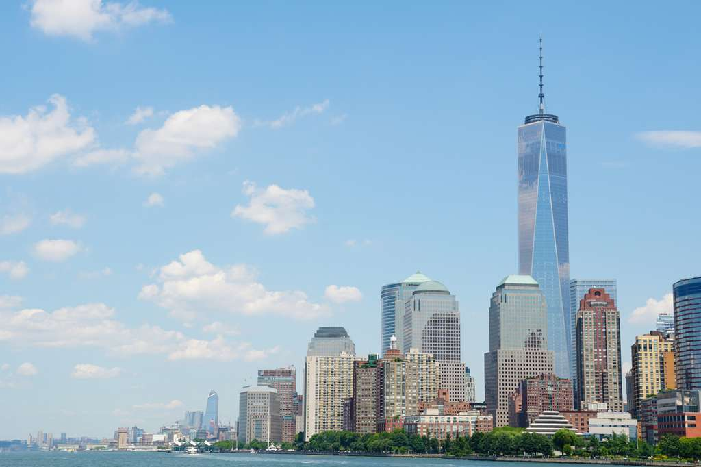Le One World Trade Center, surnommé Freedom Tower, est désormais le plus haut gratte-ciel de New York City. © Varun Verma, fotolia