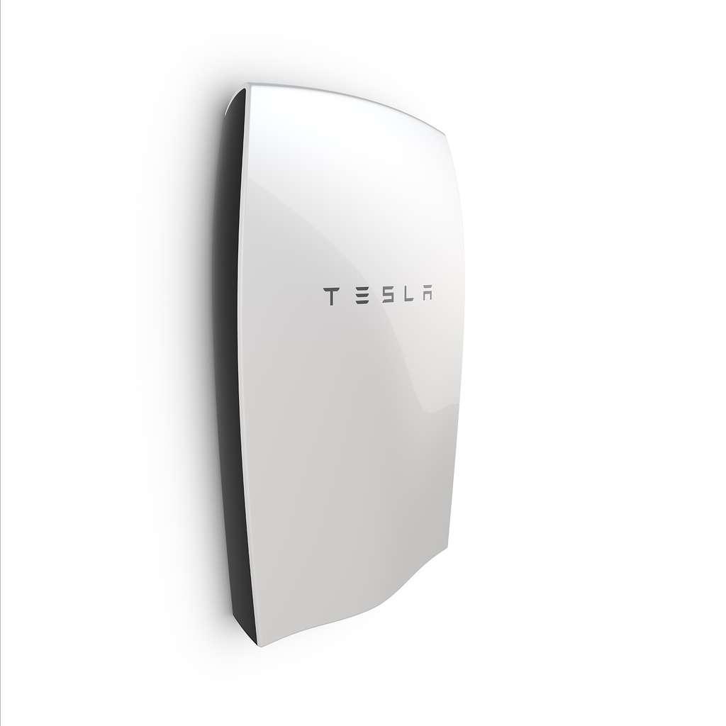 Aperçu de la batterie domestique Tesla Powerwall présentée début mai par Elon Musk. © Tesla Energy