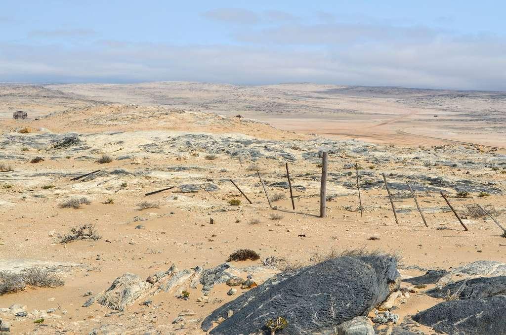 L'ancienne mine de diamants de Kolmanskop en Namibie. © jbdodane, Flickr