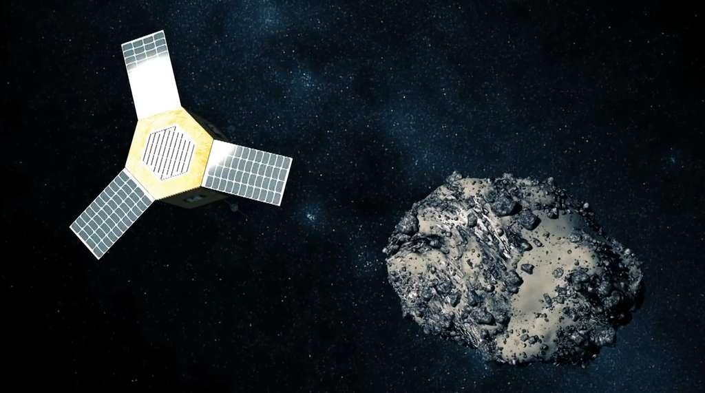 La société Deep Space Industries envisage d'exploiter les ressources minières des astéroïdes. © Deep Space Industries