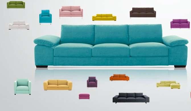 Ce canapé peut s'allonger ou rétrécir en fonction des envies... et des besoins. © Fly