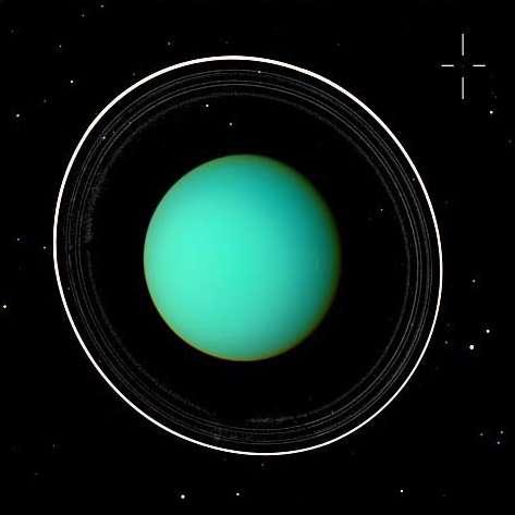 Uranus et sa lune 18