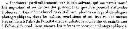 La découverte de la radioactivité (Comptes-rendus à l'Académie des Sciences, 2 mars 1896)