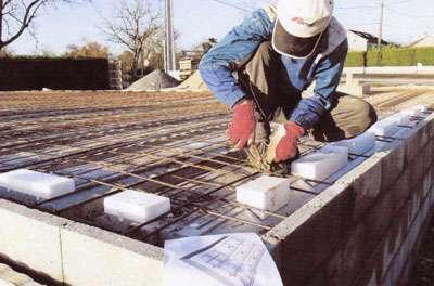 L'isolation du sol (donc du plancher) est un élément clé pour une maison à énergie positive. © DR