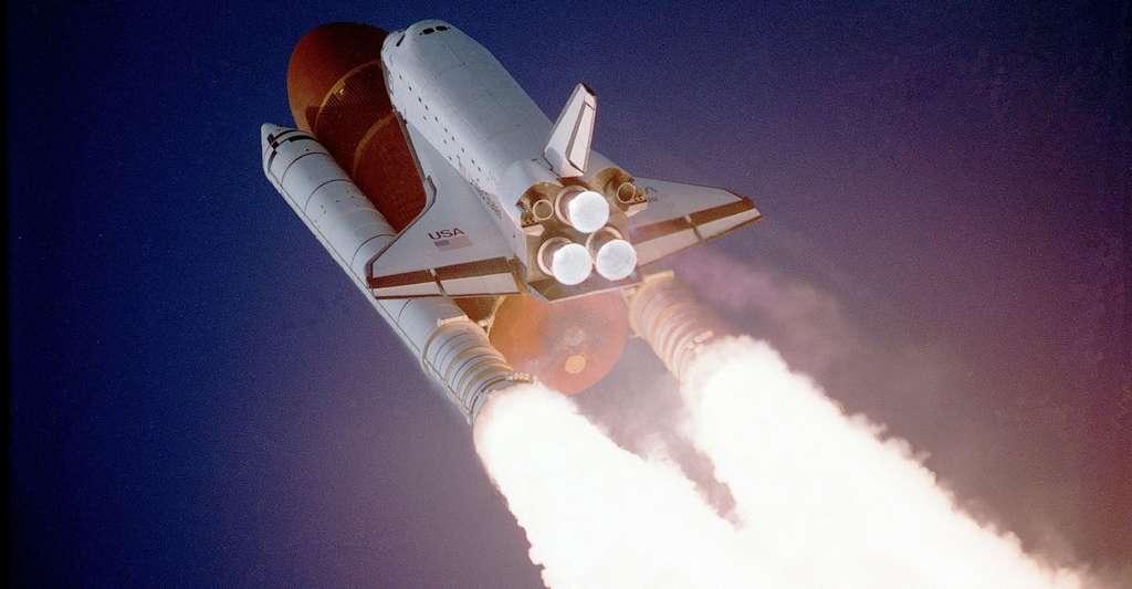 L'hydrogène métallique pourrait être utilisé comme carburant très efficace de propulseurs plus puissants qu'à ce jour. Il jouerait alors un rôle clé dans l'exploration de l'espace lointain. © Nasa-Imagery, Pixabay, DP