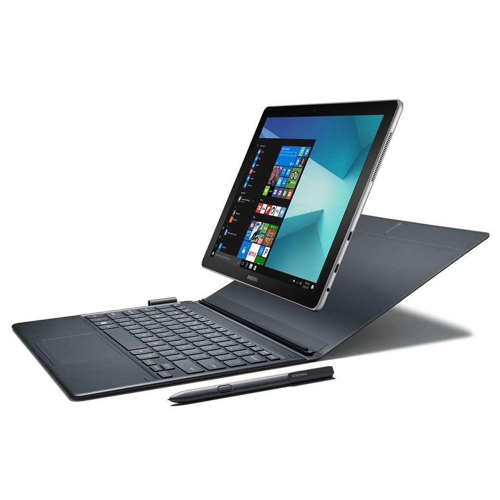 La tablette Samsung Galaxy Book, réponse de Samsung à Microsoft et Apple. © Samsung