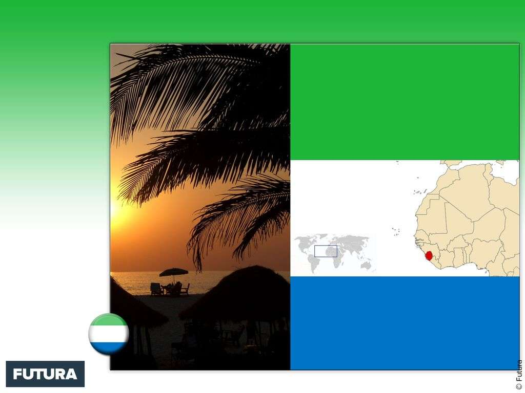 Drapeau : Sierra Leone