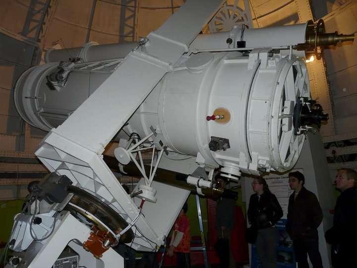 Télescope à l'observatoire de Paris, sur le site de Meudon